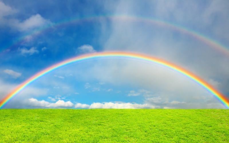 Hvad tror du der er for enden af regnbuen