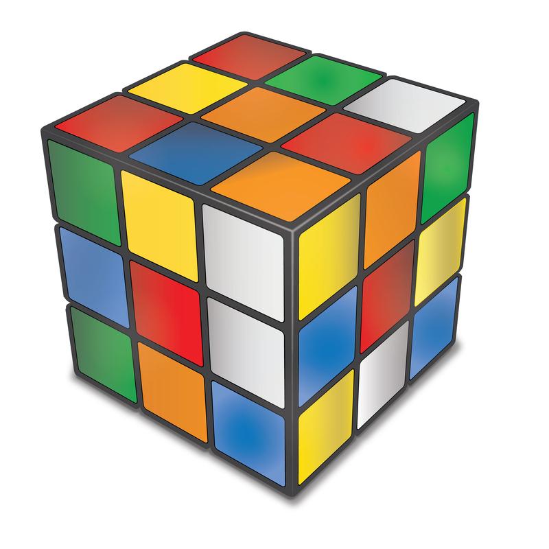 Kender du den gamle rubiks cube