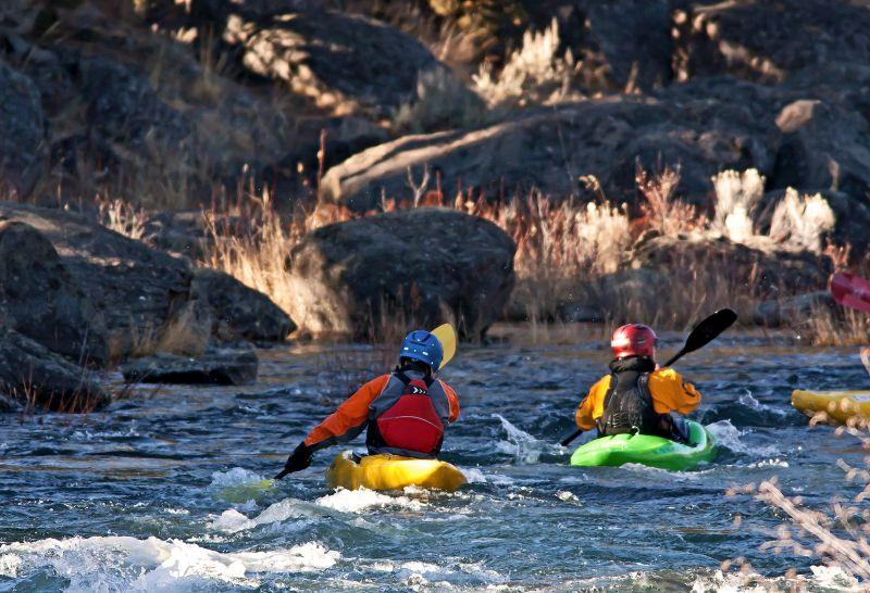 Få en vild dag på floden her