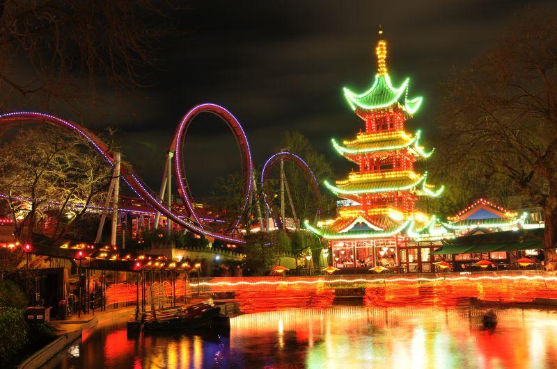 Inspireret at de kinesiske tivolis